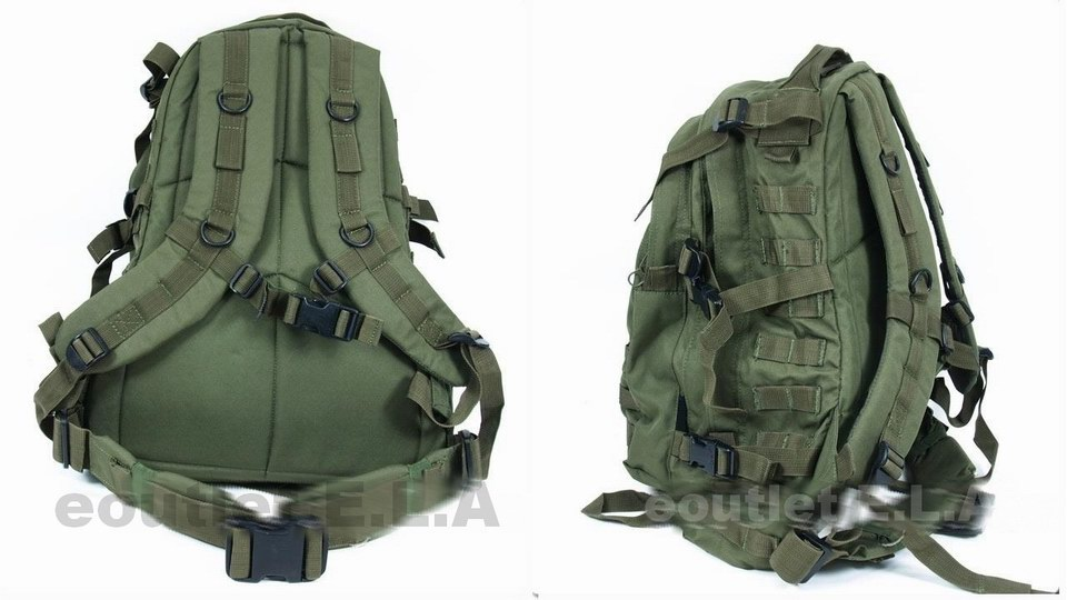 eoutlet E.L.A -NZ Store- - 3-Day USMC MOLLE Large Assault Backpack ... 071220cefa1
