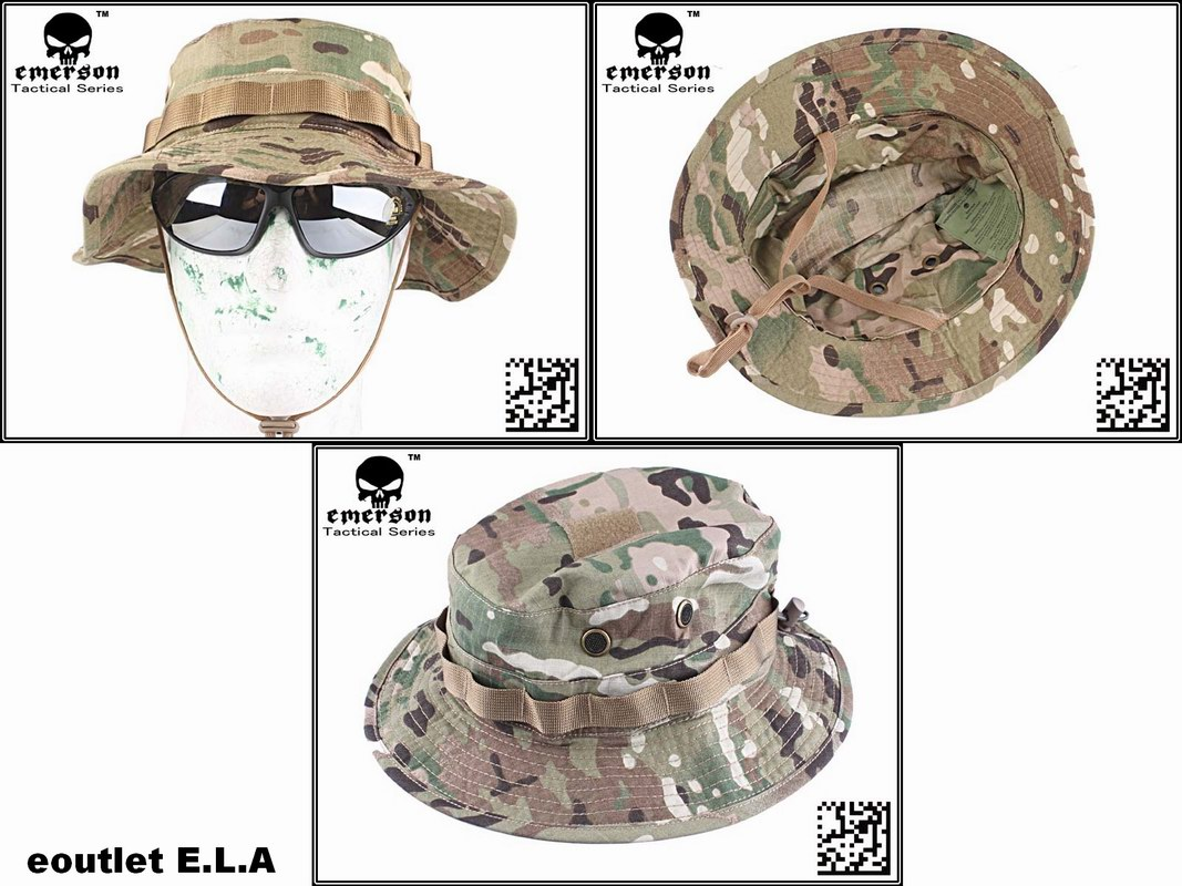 b7deb6301f2aa eoutlet E.L.A -NZ Store- - Emerson Battle Rip Stop Boonie Hat ...