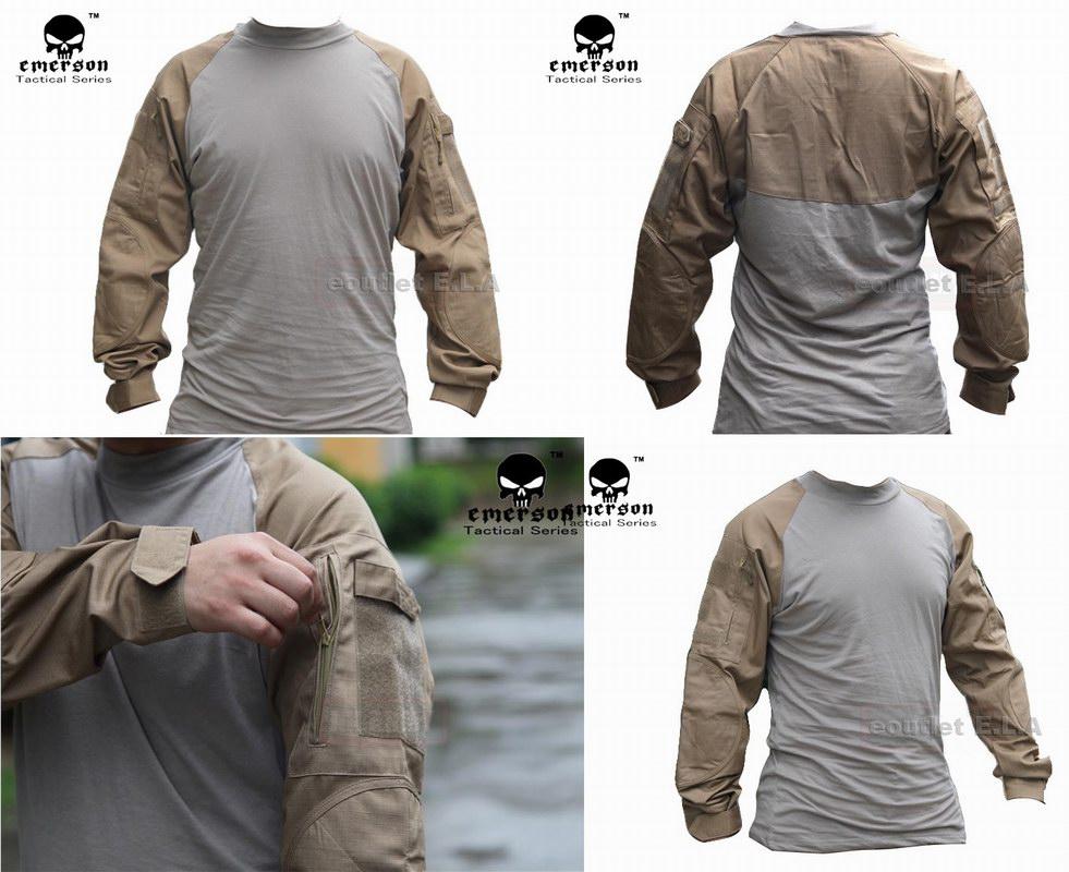 ca8cdba8 eoutlet E.L.A -NZ Store- - Emerson Combat Shirt Long Sleeve (CB ...