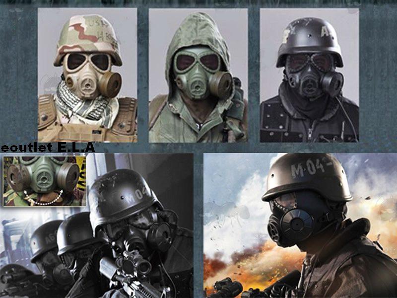 Eoutlet E L A Nz Store M04 Gas Mask Style Mask W Vent